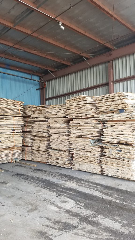 Large quanity of used gym flooring