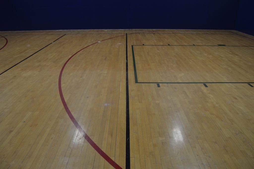 reclaimed basketball court - game center