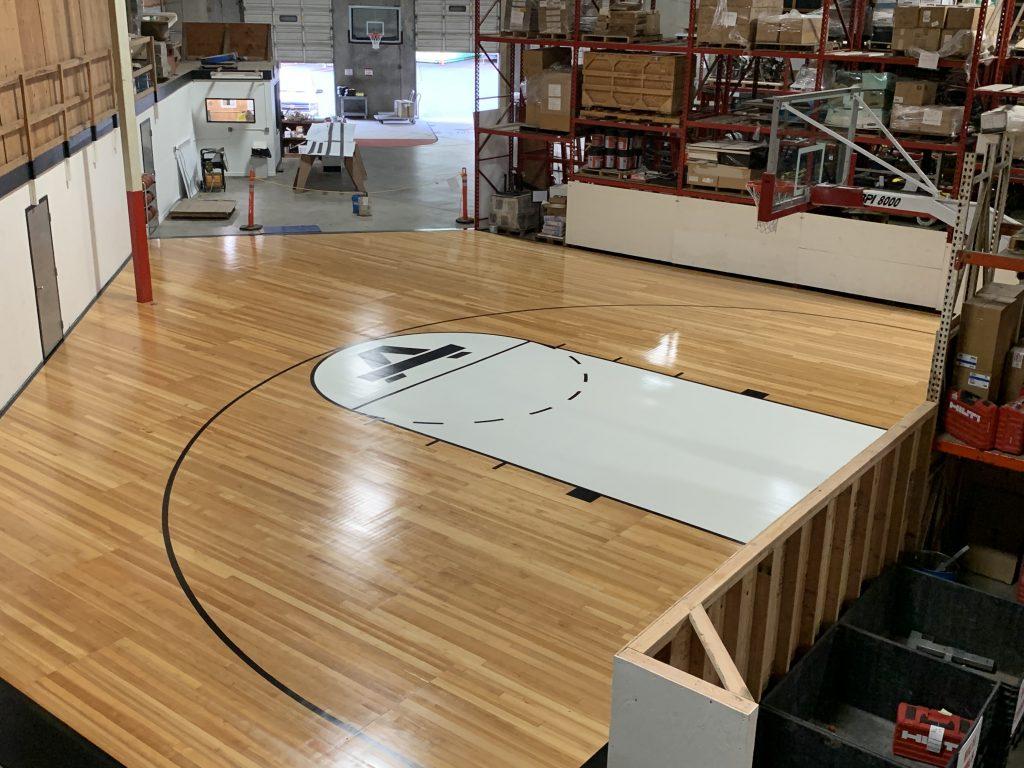 Anderson Construction Gym Floor